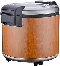 Huishouden rijstkoker, commerciële elektrische warmte behoud emmer, grote capaciteit 23L, non-stick pan, automatisch koke...