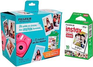 instax Paq película Mini 5, Sencillas, Color, Pack of/Paquete de 5