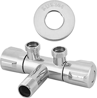 Tubes Specification : DN8 Pipes /& Hoses 1//4-1 BSP Female Reducer Ports 304 Stainless Steel One-piece Ball Valve