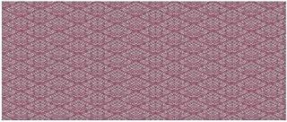 TecBillion Light Pink Beautiful Floor Sticker,Classic Victorian Style Damask Baroque Fashion Rococo Renaissance Pattern for Indoor Floor,35.4