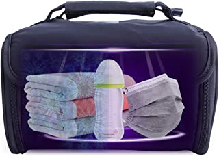 Portable LED Cleaner Box:2000MAH Battery 12 LED Smart Protecting Cleaner Bag for Home Baby Mask Travel