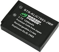 Wasabi Power Battery for Kodak KLIC-7003 and Kodak EasyShare M380, M381, M420, V1003, V803, Z950