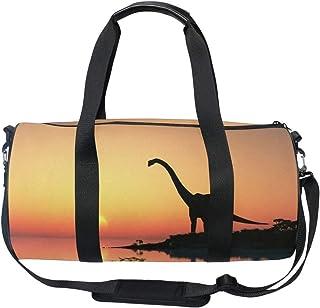 f0cc4e4a7378 Amazon.com: OXA Lightweight Foldable Travel Duffel Bag with Shoes Bag