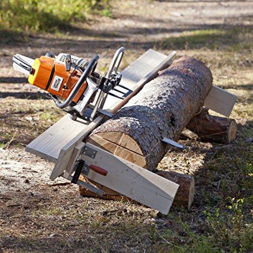 LOGOSOL Timber tragbare Kettensäge Zubehör Holzmühle, tragbares Sägewerk Zubehör