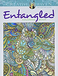 Entangled by Angela Porter zentangle inspired coloring