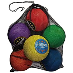 Classic rubber playground balls: This is the classic playground ball you know and love; These playground balls are perfect for indoor gymnasium games and outdoor play Durable rubber construction: Made from durable rubber, these balls have an excellen...