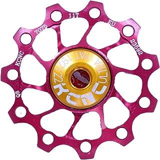 KCNC Jockey Wheel Ultra gear accessories 11T, SS-Bearing red