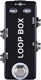 Mosky Mini Loop Box Guitar Effect Pedal with Channel Selection True Bypass