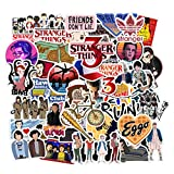 Stranger Things Movie Stickers (50 PCS) Funny Quote Vinyl Design Waterproof Pack for Hydroflasks Laptop Water Bottle Car Bike Helmet Bbumper, Best Gift for Teens, Boys, Friends