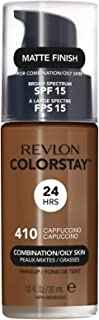 Revlon ColorStay Liquid Makeup for Combination/Oily Skin, Cappuccino, 1 Fluid Ounce