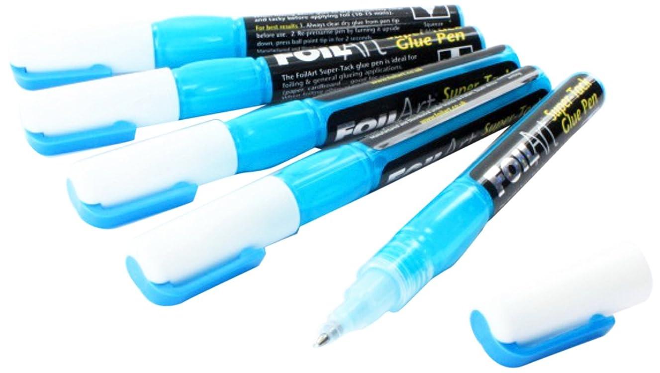 Foilart 5-super Tack Glue Pens
