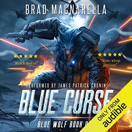 Blue Curse Audiobook By Brad Magnarella cover art