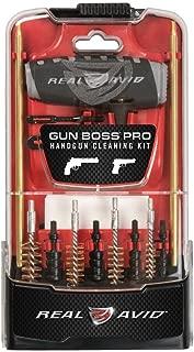 Real Avid Gun Boss Pro Handgun - .45,0.44,0.4,0.357,0.38, 9MM, .22 caliber handgun cleaning kit