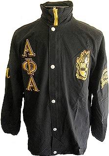 Buffalo Dallas Alpha Phi Alpha Fraternity Mens All-Weather Windbreaker Jacket