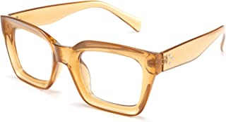 Classic Women Sunglasses Fashion Thick Square Frame UV400 B2471