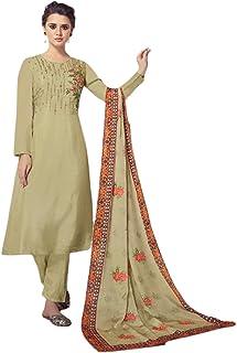 رداء نسائي مسلم أخضر هنددي/باكستاني ملابس حفلة بوليوود ستايل فانسي ستريت قميص صوفي 6070