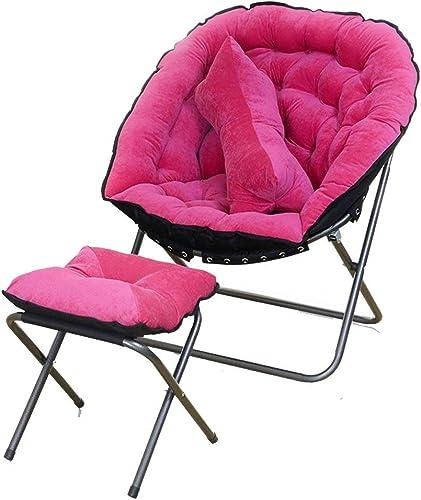 Folding Chair Home Silla Plegable Simple reclinada reclinable del balcón de la Sala de Estar del Dormitorio Simple Mini (Color  7)