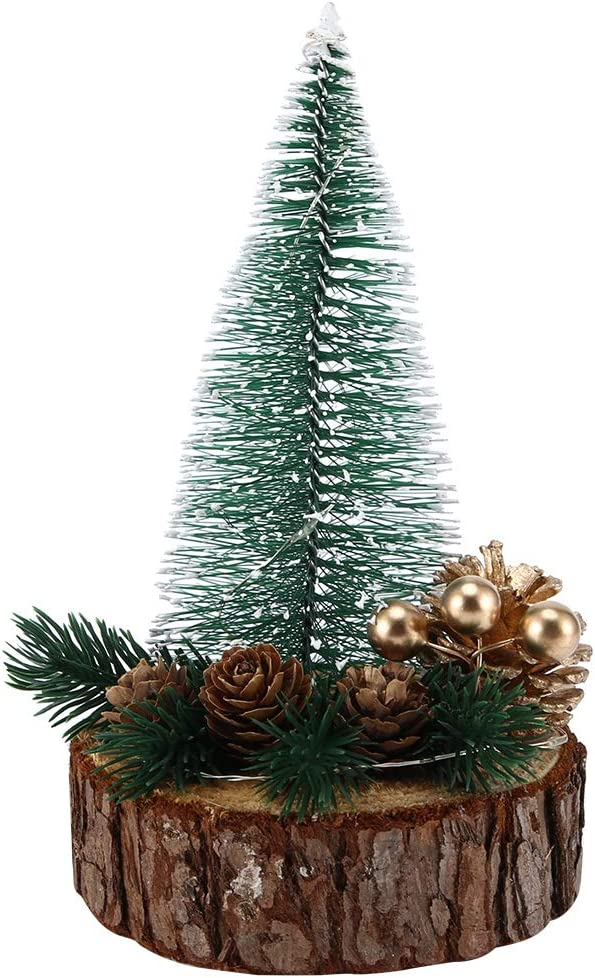 Artificial Christmas Tree Mini Sale Bargain sale price with String Li LED