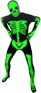 Morphsuits Adults Glow In The Dark Skeleton, The Original And Best Halloween Costume Ever