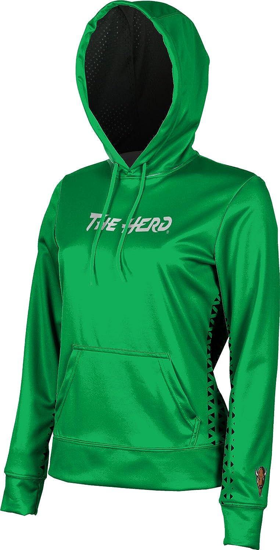 ProSphere Marshall University Girls' Pullover Hoodie, School Spirit Sweatshirt (Geo)