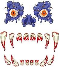 Holmeey Halloween Monster Sticker Horror Deur Muursticker voor Halloween Decoratie