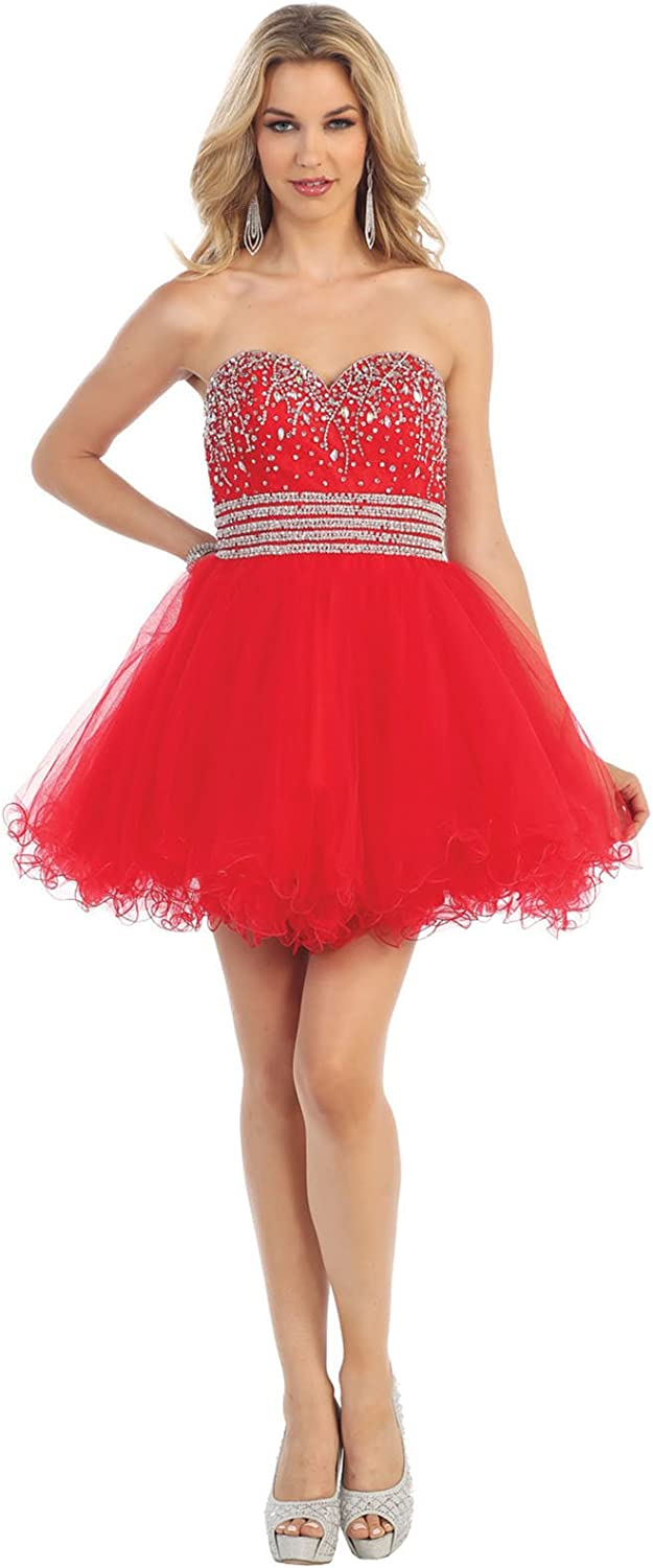 May Queen MQ1138 Sweetheart Cocktail Dress