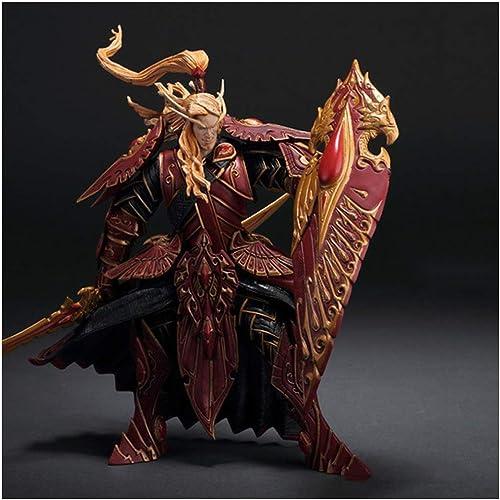 DYHOZZ World of Warcraft Jouet Statue Chevalier de Sanglier Jouet Modèle De Bureau Décoration De Collection - Hauteur  7.9in Statue de Jouet