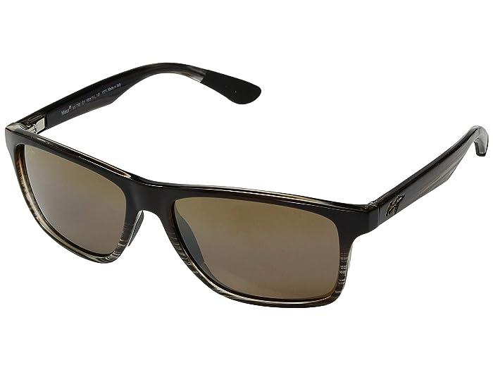 Maui Jim  Onshore (Chocolate Fade/HCL Bronze) Fashion Sunglasses