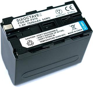 str 高性能 LGセル搭載 ソニー NP-F970 NP-F960 NP-F950 互換バッテリー [ 純正充電器で充電可能 残量表示可能 純正品と同じよう使用可能 ] HDR-FX1/HVR-Z7J/HVR-Z5J/HVR-V1J/HVR-...