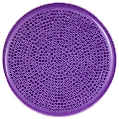 GMMH Ballsitzkissen Balance Kissen lila Sitzkissen Massagekissen Luftkissen Balancekissen