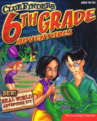 Price comparison product image ClueFinders 6th Grade Adventures
