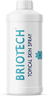 BRIOTECH Topical Skin Refill - All Natural Pure HOCl Piercing Aftercare and Soothing Skin Care Solution | 16 oz. Refill Bo...