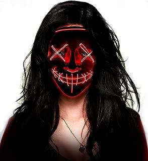 the purge glow mask