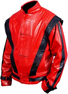 SleekHides Men's MJK Genuine Leather Thriller Jacket