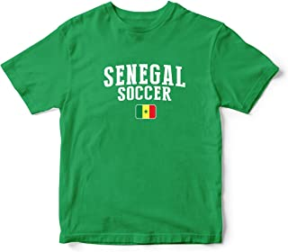 Senegal World Cup T-shirt Country Soccer For Kids & Mens Green