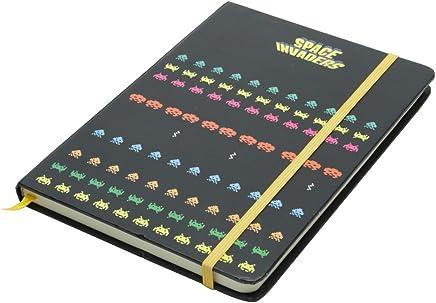 Caderneta de Anotação Space Invaders the Game Urban Colorido Papel