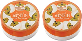 Air spun Face Powder Translucent, Extra Coverage, Pack of 2