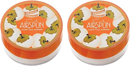 Air spun Loose Face Powder for Setting Makeup or As