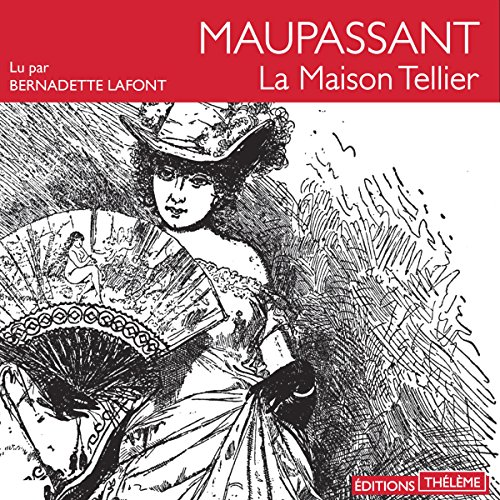 La maison Tellier audiobook cover art