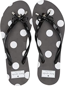 White/Black Polka Dot
