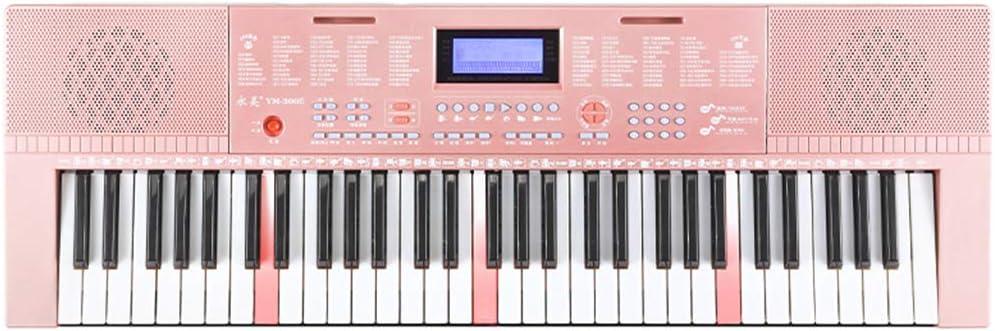 Piano electrónico altavoz estéreo profesional de 61 teclas y ...