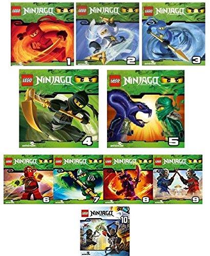 Lego Ninjago: Meister des Spinjitzu (CD 1 - 10) im Set - Deutsche Originalware [10 CDs]