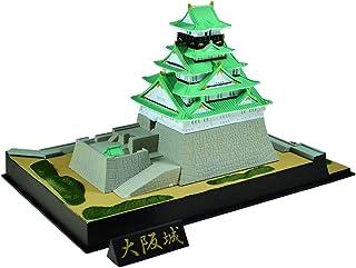 童友社 1/900 かんたんプラモデルシリーズ 大阪城 彩色済みプラモデル