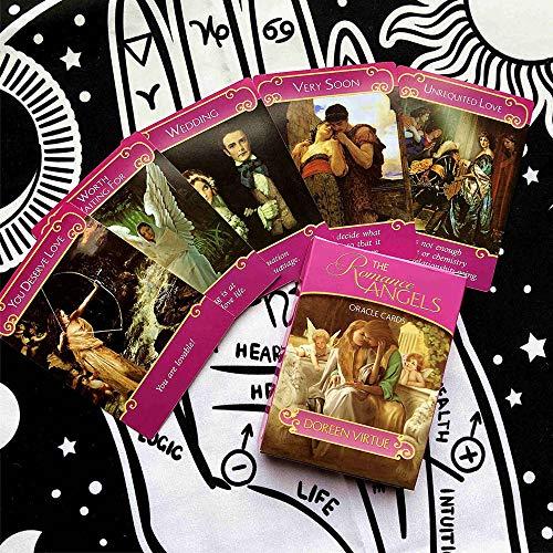 Anfängerkarte Romance Angel Tarot Card Oracle Card Vergoldete Serie Englische Wahrsagerkarte