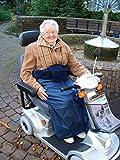 Wickeldecke für Rollstuhl und Elektromobil Größe XXL -