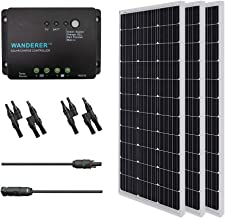 Renogy panel Monocrystalline Solar Bundle Kit, 300 Watt