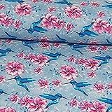 Softshell Kolibri jeansoptik Modestoffe Jackenstoff - Preis