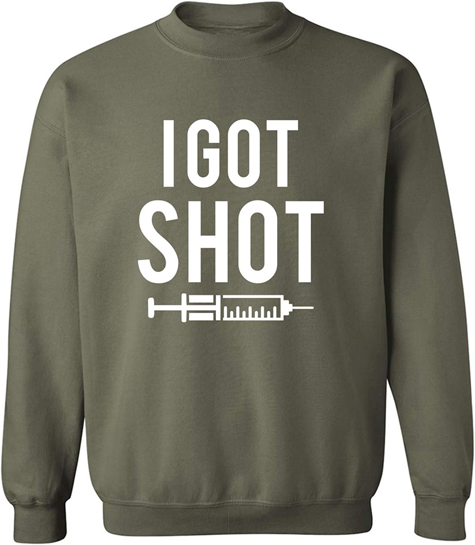 I Got Shot (vaccine) Crewneck Sweatshirt