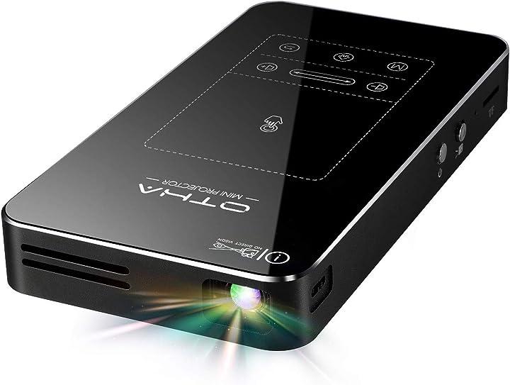 Proiettore portatile android 7.1 os hdmi keystone correction otha B07DWTZ48H
