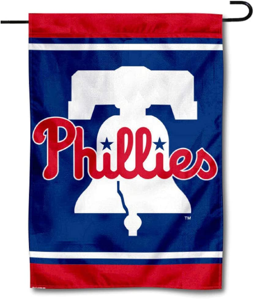 specialty shop WinCraft Philadelphia Baseball New Bell Sided Double Flag item Garden